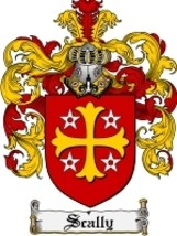 Scally Family Crest / Coat of Arms JPG or PDF Image Download - $6.99