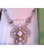 STELLA & DOT KAIA PENDANT NECKLACE New in Box t... - $112.10