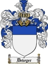 Dewyer Family Crest / Coat of Arms JPG or PDF Image Download - $6.99
