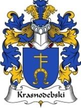 Krasnodebski Family Crest / Coat of Arms JPG or PDF Image Download - $6.99