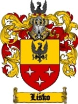 Lisko Family Crest / Coat of Arms JPG or PDF Image Download - $6.99