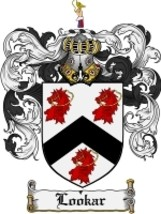 Lookar Family Crest / Coat of Arms JPG or PDF Image Download - $6.99