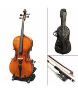 Paititi CE3005PE Scholar 256 Ebony Fitted Matte Finish Solid Wood Cello ... - $369.99