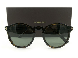 Tom Ford Sunglasses TF591 Ian-02 Havana Green 52N FT0591/S New Authentic - $239.00