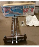 L@@K RATE HTF VINTAGE HIT THE SPOT GAME COMPLETE WITH BOX INSTRUCTIONS &... - $49.50