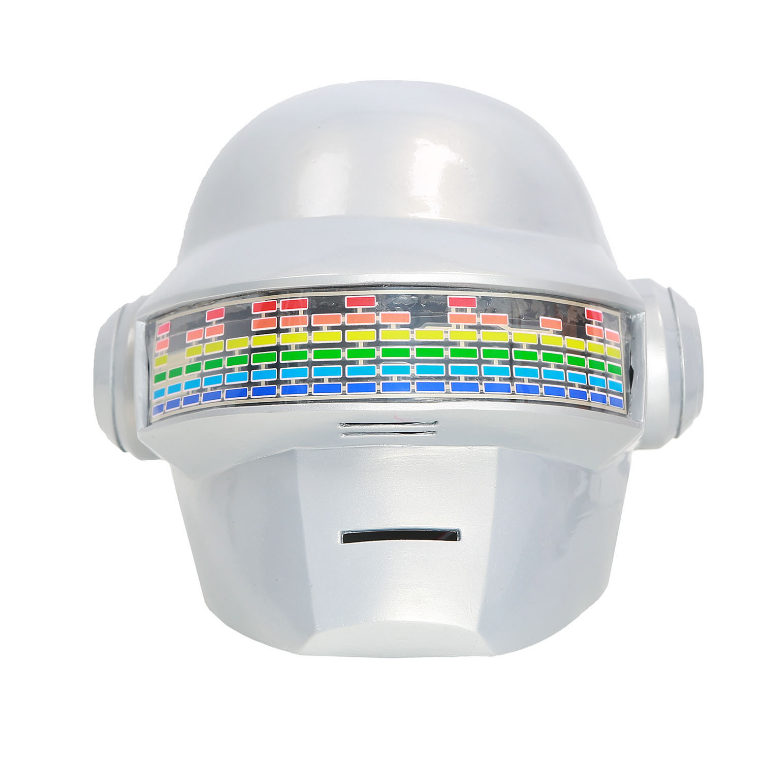 XCOSER Daft Punk Helmet Voice Control Version PVC White Full Head Helmet
