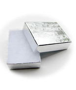 Jewelry Silver Gift Box  ON SALE 3 For $7.00 Free Shipping - $6.86