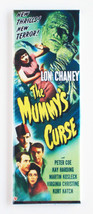 The Mummy's Curse FRIDGE MAGNET (1.5 x 4.5 inch... - $6.95