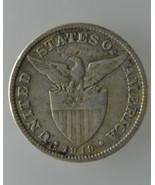 U.S. Philippine 1919-S, 50 Centavos Silver Coin... - $28.80