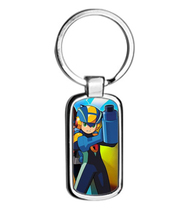MEGAMAN EXE metal keyring Keychain - $13.99