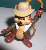 Chip  as Indiana Jones from Disney Chip N Dale l PVC Figurine  cake topper - $19.34