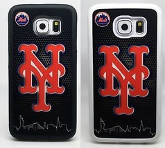 NEW YORK METS MLB PHONE CASE COVER FOR SAMSUNG GALAXY NOTE 3457 & S3 S4 ... - $14.97