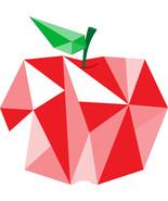 Diamond Apple-Digital clipart-Clip Art - $4.00