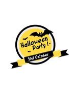 Halloween vector graphic banner-Digital clipart-Clip Art - $4.00