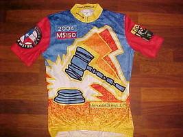 SUGOI Vinson & Elkins L.L.P. 2004 MS 150 Men Bike / Cycling Jersey S - $20.25