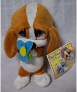 Sad Sam & Honey SAD SAM BASSETT HOUND ANGEL W/ FLOWER Plush STUFFED ANIMAL NEW - $16.34