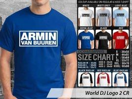 T Shirt Armin Van Buuren DJ Theme Many Color  - $9.99+