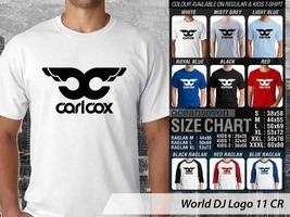T Shirt Carl Cox DJ Theme Many Color - $9.99+