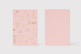 Korea LINE Friends Gilt CONY Note Book (S) Naver Character Desktop Gift ... - €17,29 EUR