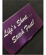 Purple Life's Short Stitch Fast Bead needle bea... - $14.40