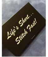 Black Life's Short Stitch Fast Bead needle bead... - $14.40