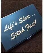 Blue Life's Short Stitch Fast Bead needle bead ... - $14.40