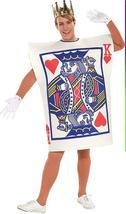 ADULT KING OF HEARTS PLAYING CARD COSTUME - $30.00