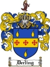 Derling Family Crest / Coat of Arms JPG or PDF Image Download - $6.99