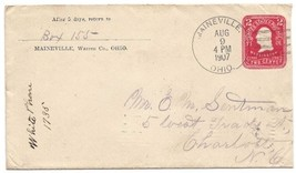 1907 Maineville, OH/Chippenhook, VT Discontinued/Defunct Post Office (DP... - $7.99