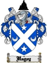 Hagey Family Crest / Coat of Arms JPG or PDF Image Download - $6.99