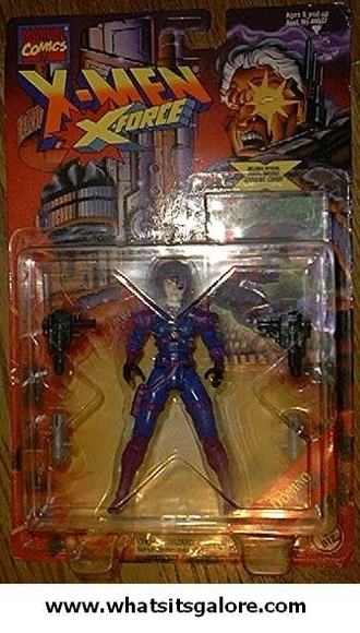 Marvel Comics action figures First Appearances DOMINO + STINGER + PSYLOCKE X-Men