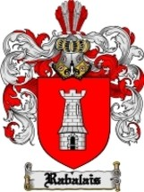Rabalais Family Crest / Coat of Arms JPG or PDF Image Download - $6.99