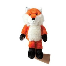 Manhattan Toy Paw-riffcs Fox Plush Hand Puppet - $13.85