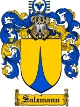 Salzmann Family Crest / Coat of Arms JPG or PDF Image Download - $6.99