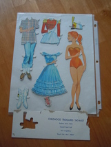 Childhood Treasures Paper Dolls 545-4457 - $2.99