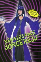Medieval Sorceress Ladies Adult Costume SZ 2 - 8 - $30.00