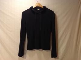 J. Crew Womens Black Hooded Sweatshirt