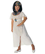 Girls Cleopatra Halloween Costume Size 5-7 Years Old - $12.00