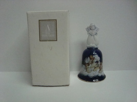 Avon Heavenly Notes Christmas Bell 1992, with box - $3.99