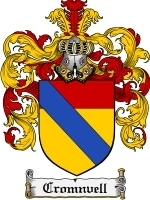 Primary image for Cromnvell Family Crest / Coat of Arms JPG or PDF Image Download