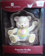American Greetings Parents To Be Bear Ornament 2009, with box - $7.99