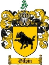Gilpin Family Crest / Coat of Arms JPG or PDF Image Download - $6.99