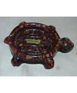 Vintage Turtle Lucite and Petrified Wood Soap Dish - Trinket Dish - Jewe... - $8.00