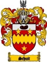 Schuit Family Crest / Coat of Arms JPG or PDF Image Download - $6.99
