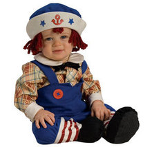 Raggamuffin Sailor Halloween Costume Size 1-2 Years - $26.00