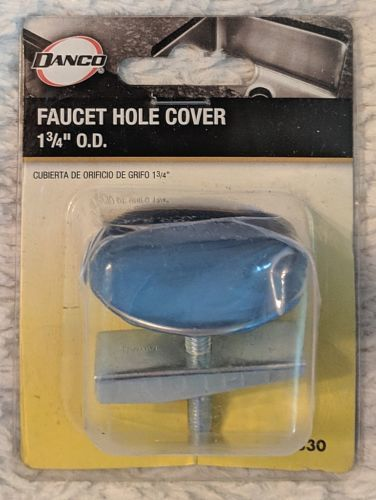 DANCO 80830 Chrome Kitchen Faucet Hole Cover Fits All Standard Sinks