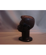 Besmo Hand Carved Wooden Bust of Woman from  Kenya - $12.99
