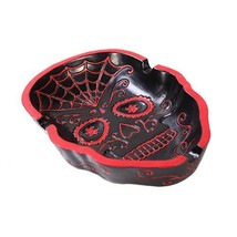 Pacific Trading Giftware Day Of The Dead Skull AShtray Figurine Made of ... - £11.21 GBP