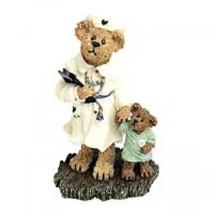 "Boyds Bearstone ""Karen Gentletouch w/Lil' Bearybutt"" #227772 - New- 2001 - $22.99"