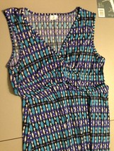 Women's Full Circle Dress Size XXLarge Multi-Color Empowering Women - $16.65